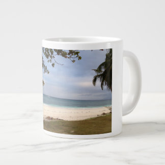 Carabao Island Beach Giant Coffee Mug