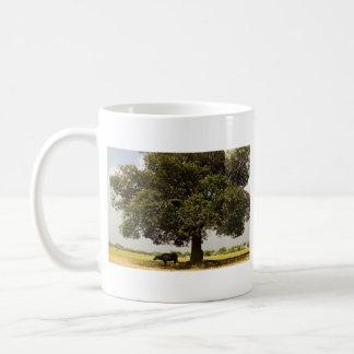 Carabao Under a Tree (3) Coffee Mug