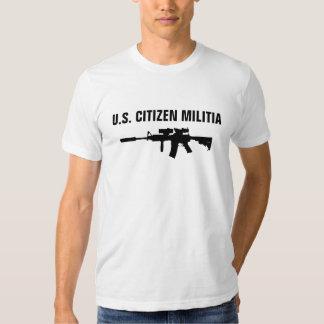 Carabina de la milicia M4 Remeras