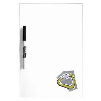 Carabiner Dry Erase White Board