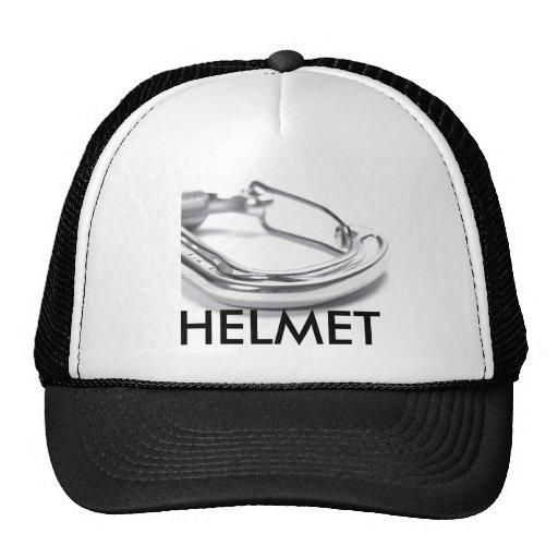 carabiner, HELMET Trucker Hat