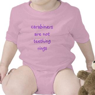 carabiners are not teething rings baby creeper