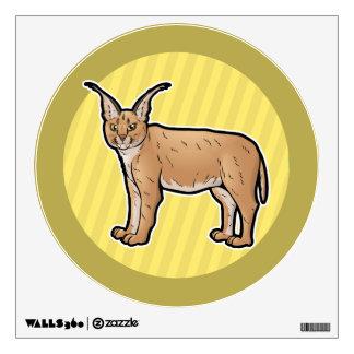 Caracal Wall Sticker