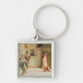 Caracalla: AD 211, 1902 (oil on canvas) Keychain