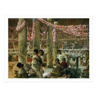 Caracalla and Geta, 1907 (oil on canvas) Postcard