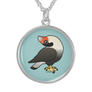 Caracara Display Sterling Silver Necklace