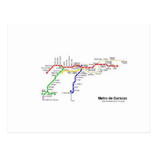Caracas subway postcards