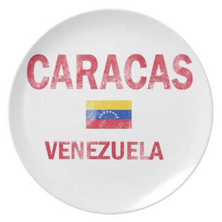 Caracas Venezuela Designs Dinner Plate