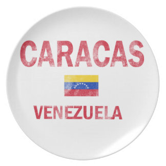Caracas Venezuela Designs Plate