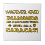 caracat mejor que diamantes teja  ceramica