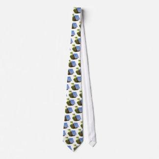 caracol accionado solar 3d corbatas personalizadas