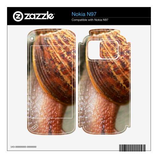 Caracol Calcomanías Para Nokia N97