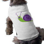 Caracol Camisetas De Mascota