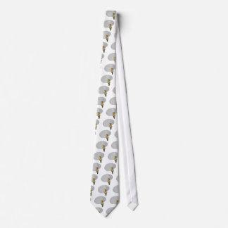 Caracol chistoso en lirio corbata