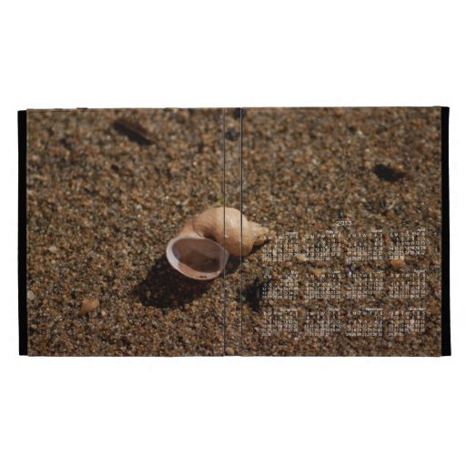 Caracol de agua dulce Shell; Calendario 2013