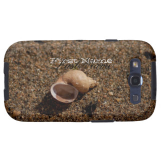 Caracol de agua dulce Shell; Personalizable Samsung Galaxy S3 Protector