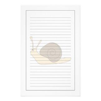 Caracol de jardín papeleria personalizada