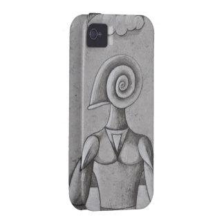 Caracol de la soja de Yo iPhone 4/4S Carcasas