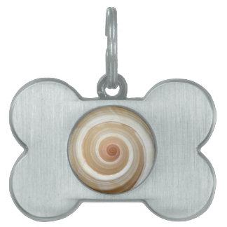 Caracol de mar Shell Placa De Mascota