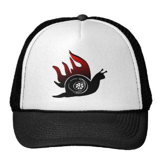 Caracol del alza gorras de camionero