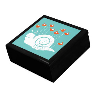 Caracol del fall cajas de joyas