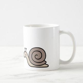 Caracol gigante asombroso del mascota taza de café
