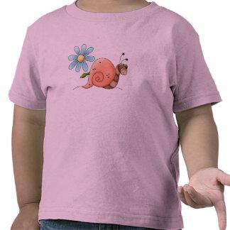 caracol lento camiseta