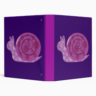 "Caracol manchado púrpura carpeta 1"""