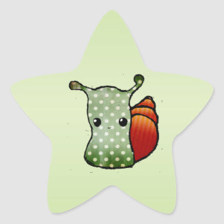 Caracol Pegatina En Forma De Estrella
