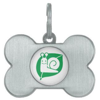 Caracol Placa Mascota