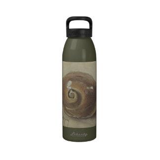 Caracol Shell de Moonshell de la playa del Seashel Botellas De Agua Reutilizables