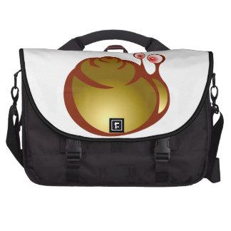 Caracol snail bolsa de ordenador