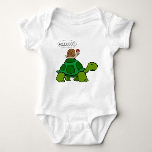 Caracol y tortuga - dúo de Turbo Playera