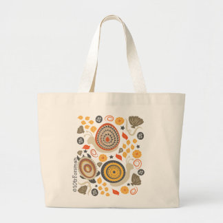 Caracoles y bolso contemporáneo del modelo de la m bolsa