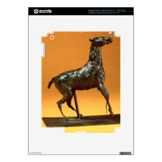 Caracoling Horse (bronze) Decals For iPad 3