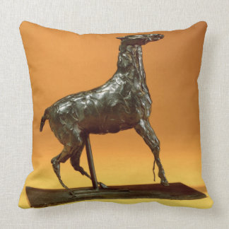 Caracoling Horse (bronze) Pillow