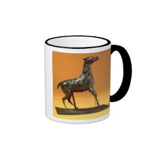Caracoling Horse (bronze) Ringer Mug
