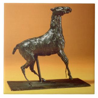 Caracoling Horse (bronze) Tile