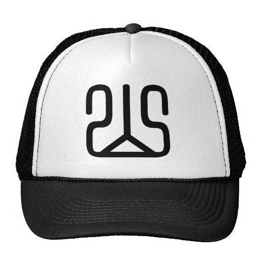 Carácter chino: shan, significando: colina, montañ gorras de camionero