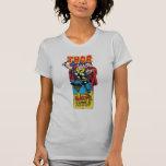 Carácter cómico retro del Thor Camisetas