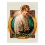 Carácter de BILBO BAGGINS™ con nombre Tarjetas Postales