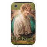 Carácter de BILBO BAGGINS™ con nombre Tough iPhone 3 Cobertura