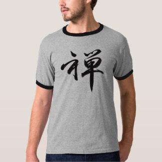 """Carácter de kanji para el """"ZEN """" Polera"""