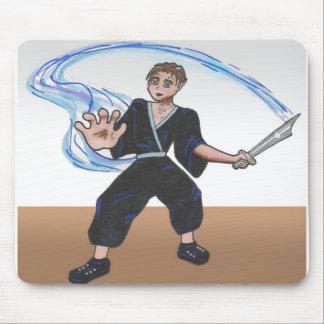 Carácter de la galería de arte del animado de Aaro Alfombrillas De Raton