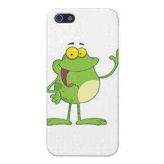 Carácter de la mascota del dibujo animado de la ra iPhone 5 carcasa