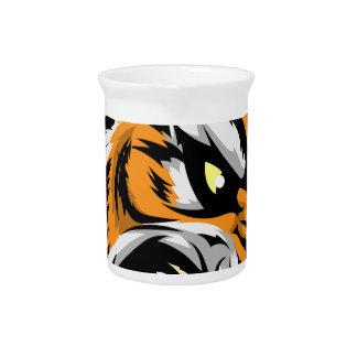 Carácter de la mascota del tigre
