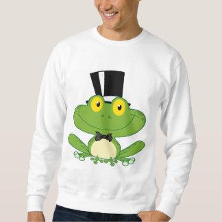 Carácter de la rana del novio del dibujo animado jersey