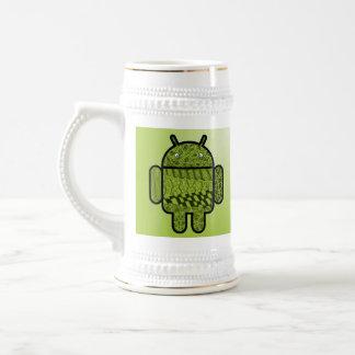 Carácter de Paisley para el robot de Android™ Jarra De Cerveza