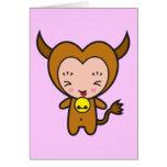 Carácter de signo de la estrella - tauro tarjeta