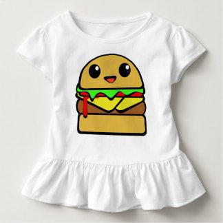 Carácter del cheeseburger de Kawaii Polera